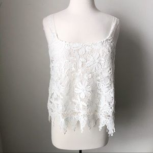 Romeo and Juliet couture lace top size small
